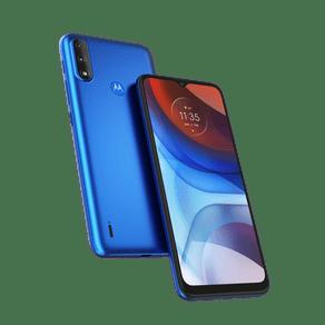 Smartphone-Moto-E7-Power-32GB-Imagem-Frontal-Curvada-Azul-Metalico-foto-3