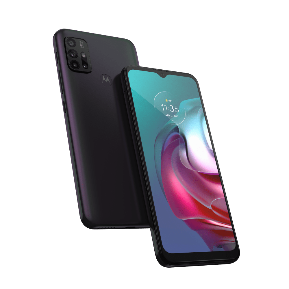 Smartphone-Moto-G30-128-GB-Imagem-Frontal-Curvada-Dark-Prism1